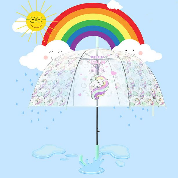 Kids Fun Clear Umbrellas offer at R 119
