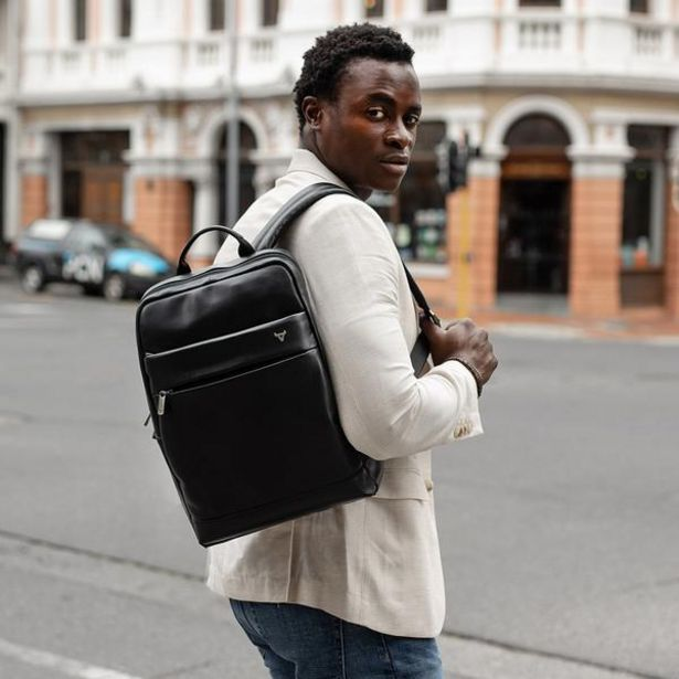Genuine Leather Andes Laptop Backpack offer at R 1499