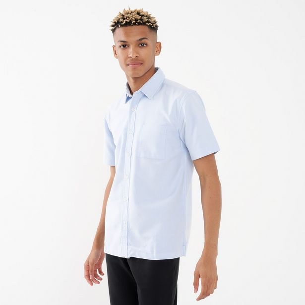 Men's Oxford Shirt Short Sleeve offers at R 399