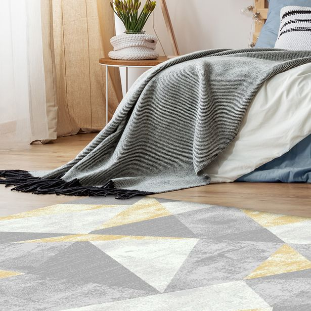 Zenith Rainbow White Yellow Carpet offers at R 699