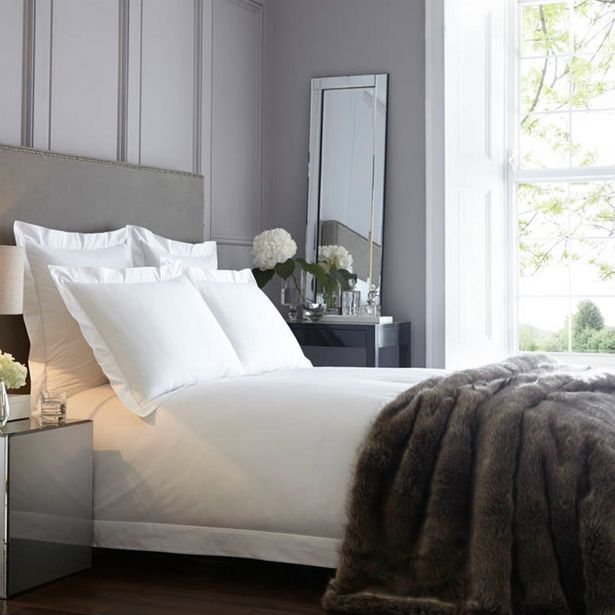 600 Thread Count 100% Egyptian Cotton Satin Stitch Oxford Duvet Cover offers at R 1799