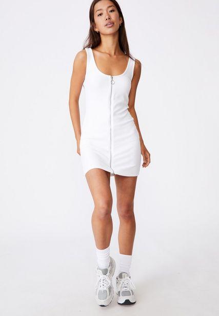 Ladies Zipper Front Mini Dress offers at R 199