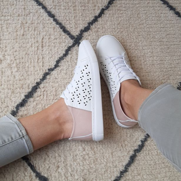 Ladies Genuine Leather Matinee Sneakers offer at R 729