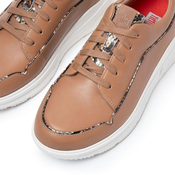 Ladies Freya Leather Sneakers with Exotic Piping offers at R 1299