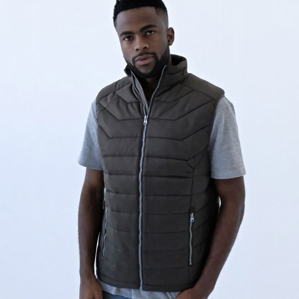 Men's Cruelty-Free Sleeveless Puffer Jacket offers at R 599