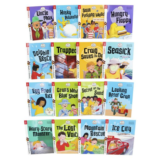 Read with Biff, Chip and Kipper Collection (16 Books) offers at R 569
