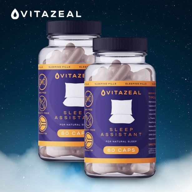 Pack of 2 Natural Sleep Assistant Capsules (60 Tablets per Bottle) offers at R 279