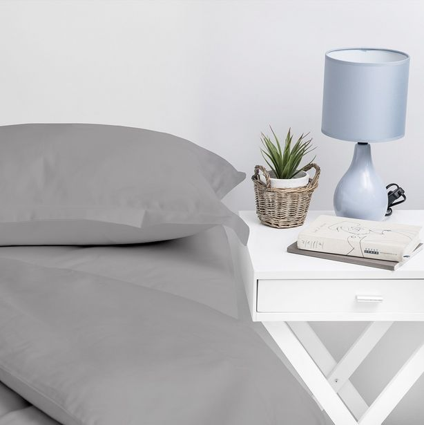 Set of 2, 1000 Thread Count Grey Oxford Pillow Cases offer at R 399