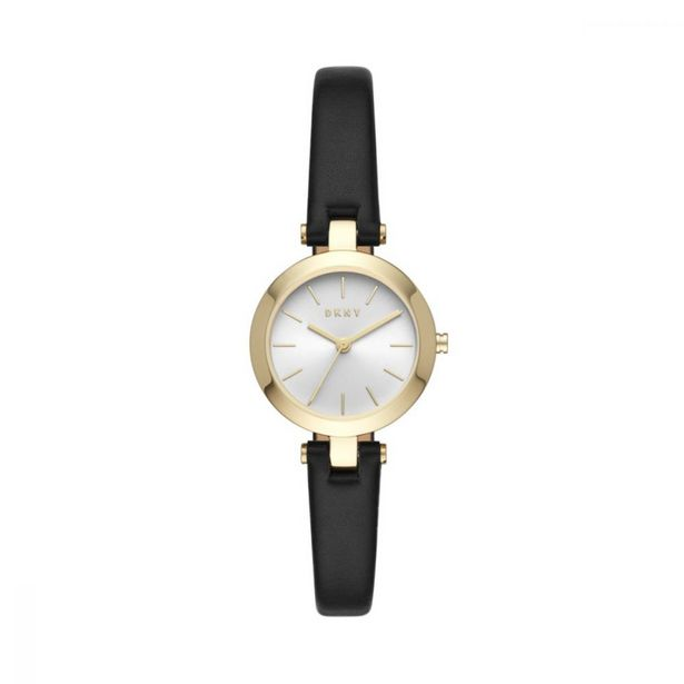 Women's City Link Three-Hand Black Strap Watch offer at R 1199