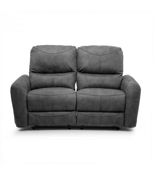 Hudson 2 Seater Recliner - Charcoal offers at R 8800