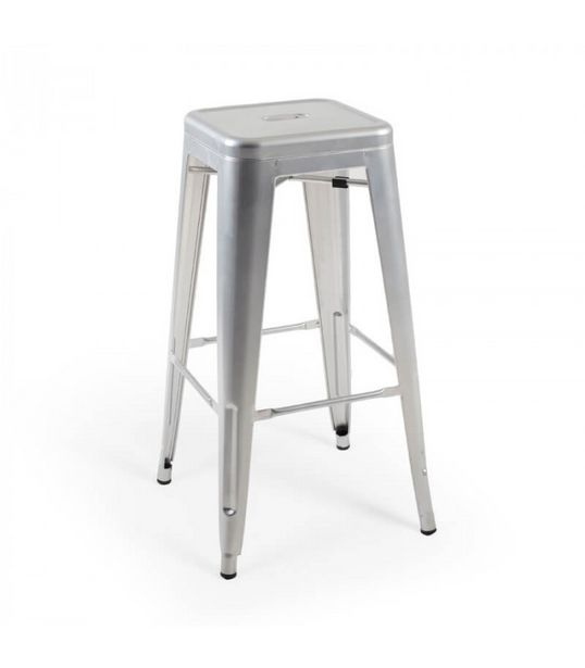 Malcolm Metal Stool - Bullet Silver offers at R 550