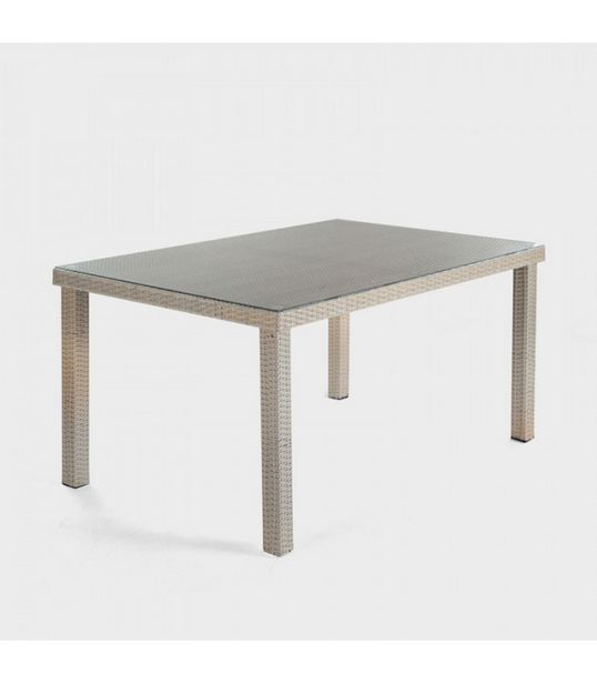 Nevada Patio Dining Table-Stone offers at R 3800