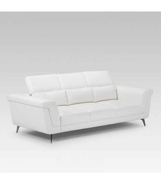 Laurence Three Seater - White offers at R 10200