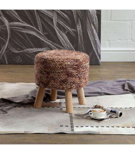 Neo Handmade Stool - Rust offers at R 850
