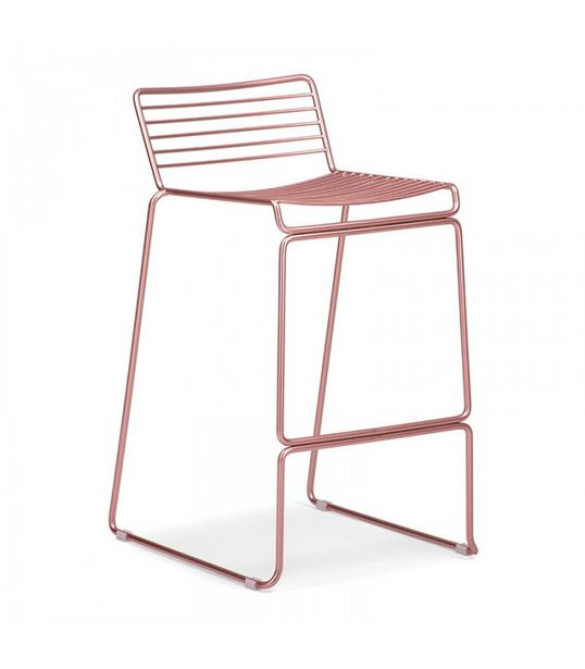 Lux Counter Bar Chair - Rose Gold offers at R 950