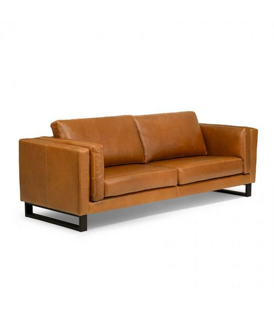 Leadford 3 Seater Couch - Tan offers at R 24400