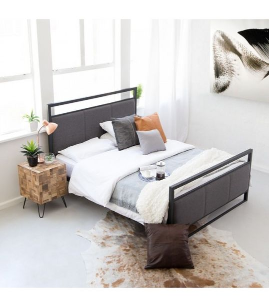 Lara Metal Bed Base - Queen offers at R 3250