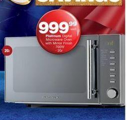 Platinum Microwave  offer at R 999,99