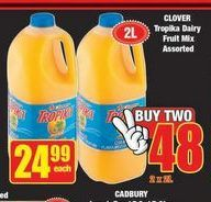 Clover Tropika Dairy Blend offer at R 24,99
