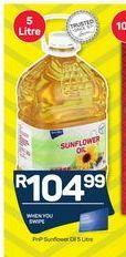 PnP Sunflower Oil offer at R 104,99