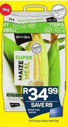 PnP Super Maize Meal offer at R 34,99
