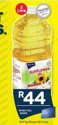 PnP Sunflower Oil offer at R 44