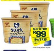 Stork Country Spread 3 offer at R 99