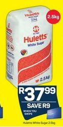 Huletts White Sugar offer at R 37,99