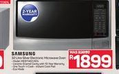 Samsung Microwave offer at R 1899