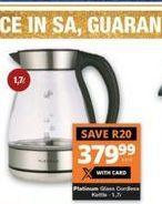 Platinum Kettle offer at R 379,99