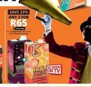 Liqui-Fruit Fruit Juice 2 offer at R 65