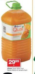 Clover Fruit Juice  offer at R 29,99