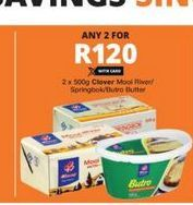 Clover Butter 2 offer at R 120
