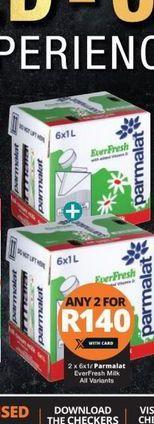 Parmalat Milk 2 offer at R 140