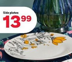 Side plates offer at R 13,99