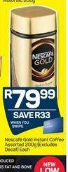 Nescafé Gold Jar  offer at R 79,99