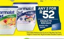 Parmalat Smooth Yoghurt  2 offer at R 52
