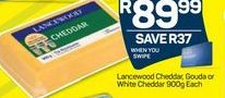 Lancewood Cheddar Cheese  offer at R 89,99