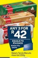 Bakers Biscuits 3 offer at R 42