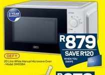 Defy Microwave  offer at R 879