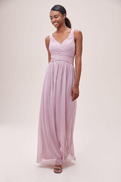 BM00225 Long Mesh Bridesmaid Dress offers at R 1800