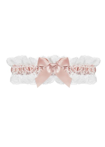 UG00111 LACE GARTER WITH SATIN RIBBON offers at R 150