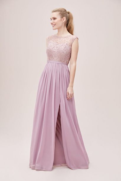 BM00218 Lace Bodice Bridesmaid Dress offers at R 1800