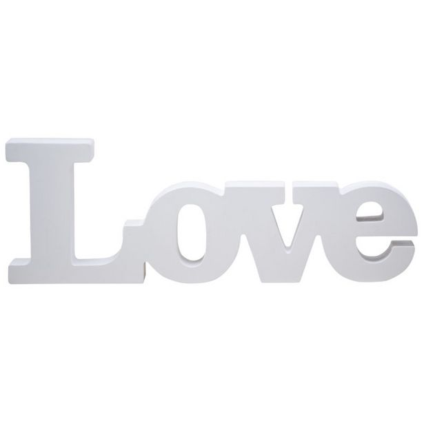 FS00208 Wooden Love Sign offers at R 199