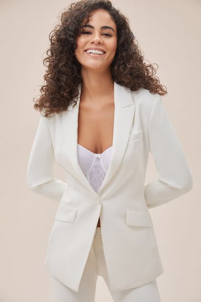 SO01335 BRIDE&CO  Single Button Relaxed Fit Suit Jacket offers at R 2610