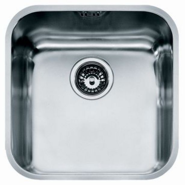Stella single u/mount sink +90mm waste & o/flow offers at R 1829,95