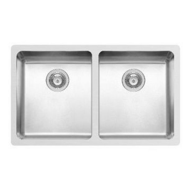 Double bowl undermount sink+ 90mm wastes offers at R 6999,95