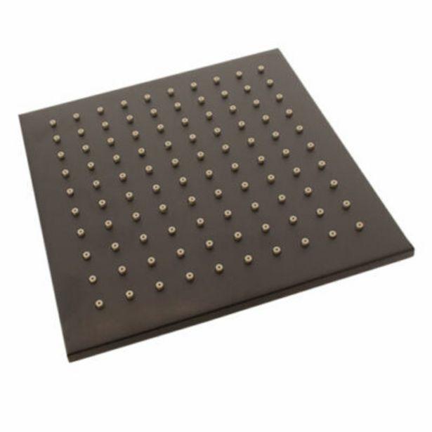 Studio black matt square shower head – 200 mm offers at R 1069,95