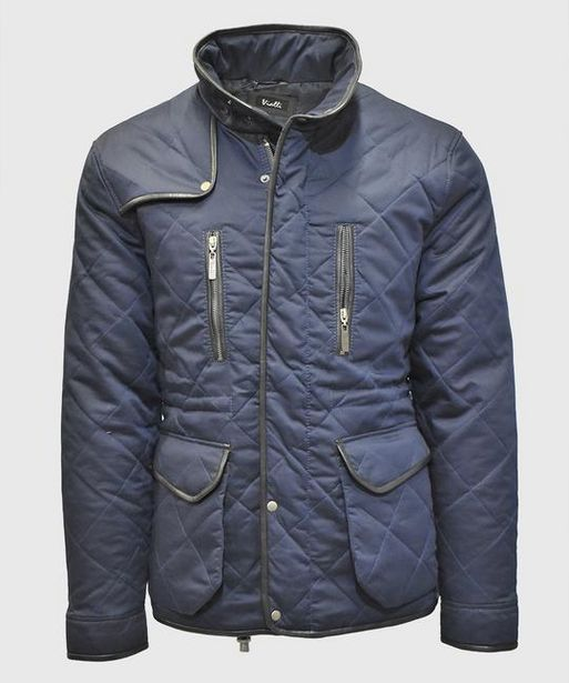 Ross Quilted Jacket (Navy) offers at R 2099,5