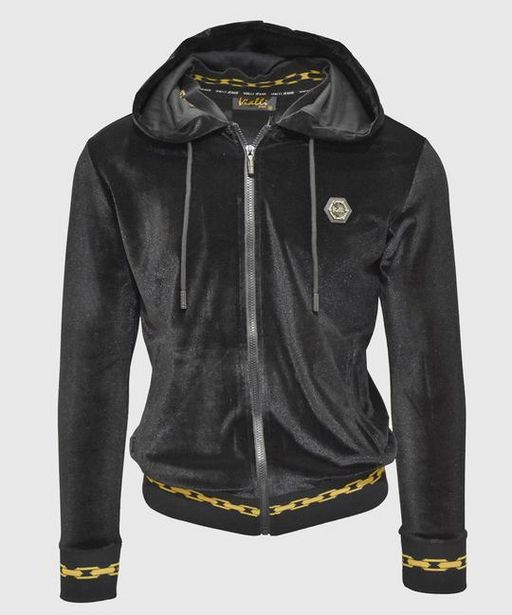 Bolt Hooded Tracktop (Black) offers at R 599,5